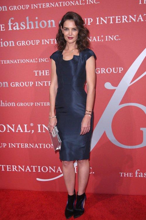 Katie Holmes à la soirée Night of Stars Gala, à New York, le 22 octobre 2015