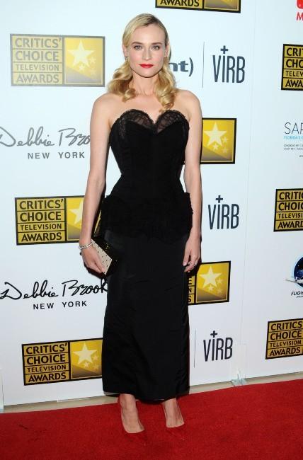 Diane Kruger rayonnante le 10 juin 2013 à Beverly Hills