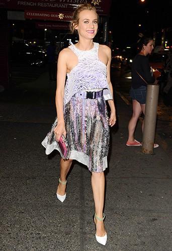 Diane Kruger à New York le 8 septembre 2014