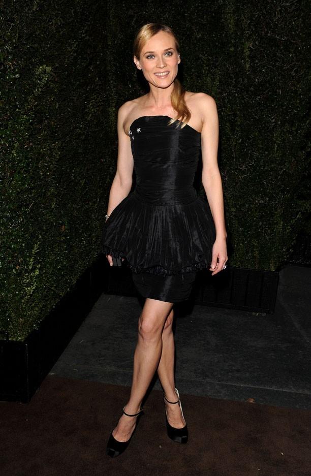 Diane Kruger a misé sur un classique
