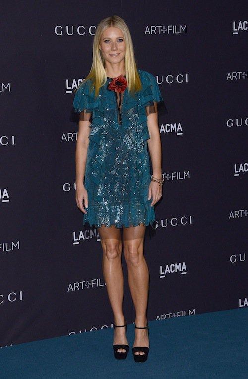 Gwyneth Paltrow au gala LACMA, à Los Angeles, le 7 novembre 2015 !
