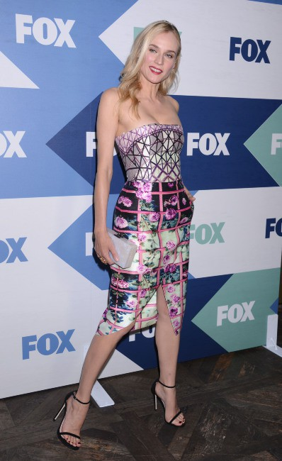 "Diane Kruger lors de la ""Fox Summer TCA All Star Party"" à Los Angeles, le 1er août 2013."
