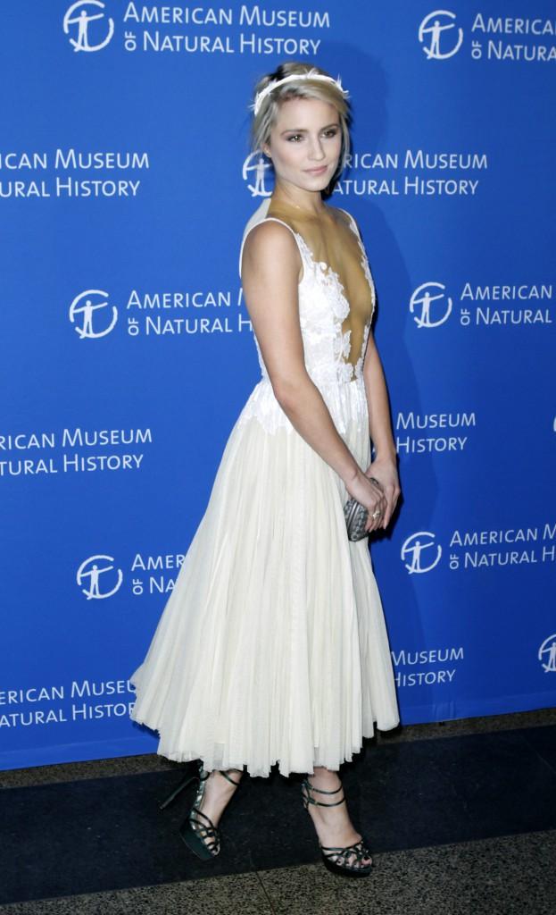 Dianna Agron à New York le 20 novembre 2014