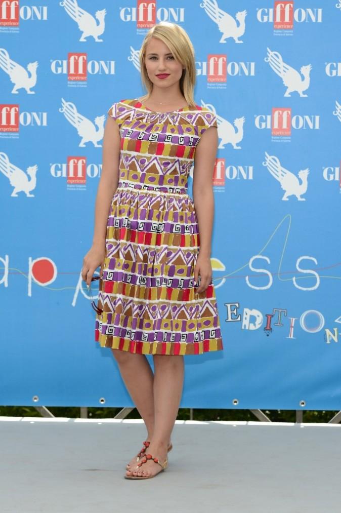 Dianna Agron au Giffoni Film Festival à Salerne en Italie, 22 juillet 2012
