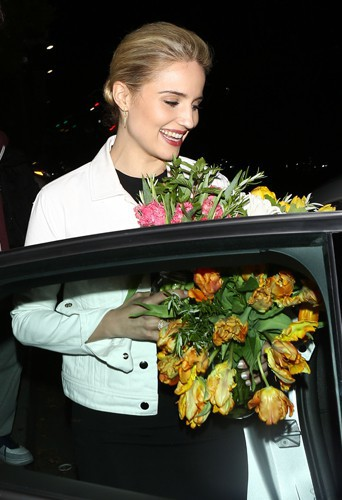 Dianna Agron à Los Angeles le 2 avril 2014