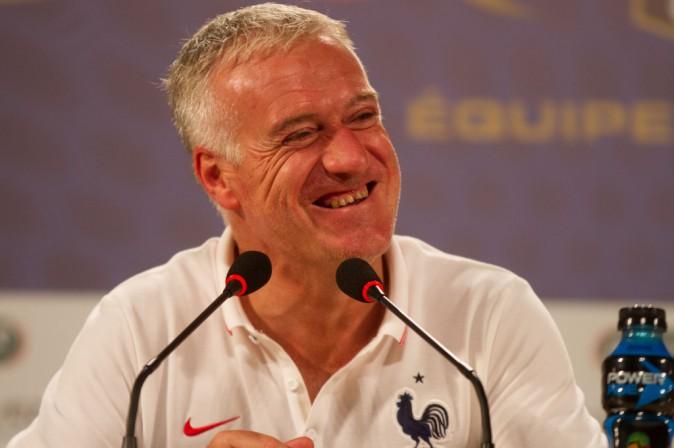 """Didier Deschamps : """"Les Bleus sont heureux, contents, fiers d'être là"""" !"""