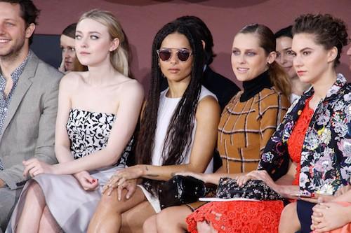 Défilé Dior Cruise 2016 à Cannes, le 11 mai 2015