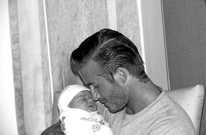 David Beckham : my daddy is sexy !