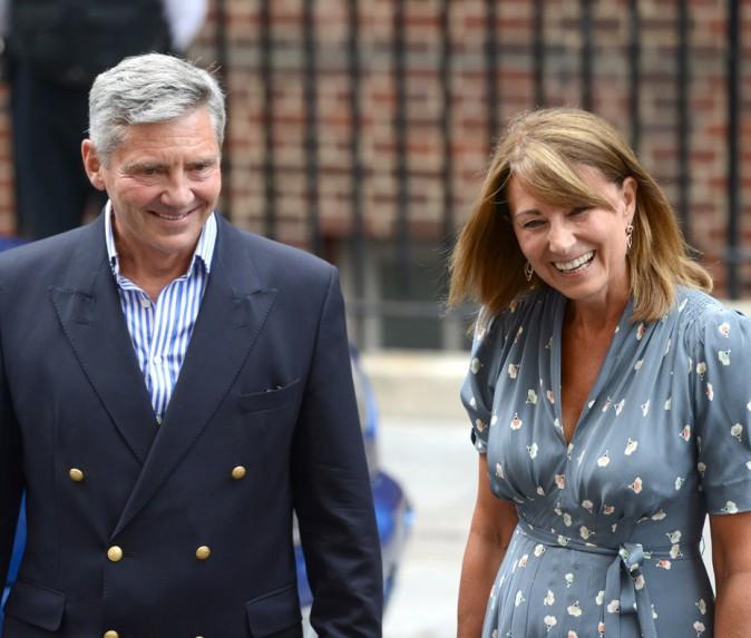 Il y a de l'eau dans le gaz : Michael Middleton et Carole Middleton