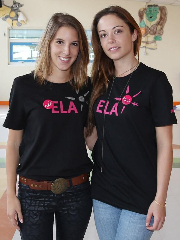 Léa François et Dounia Coesens