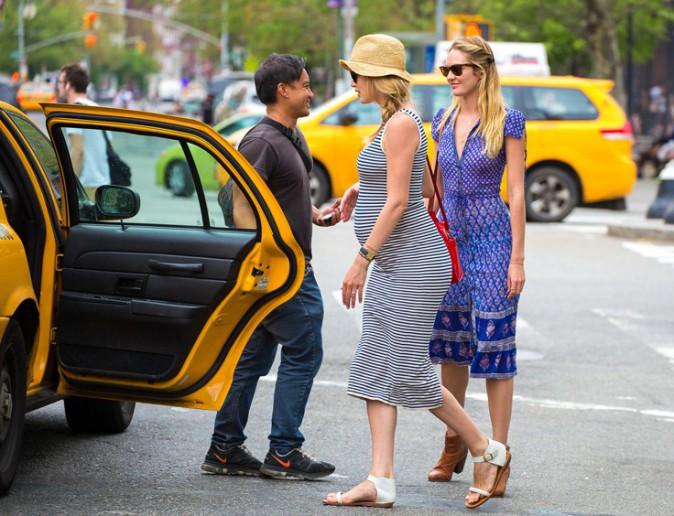 Doutzen Kroes et Candice Swanepoel à New-York le 12 mai 2014