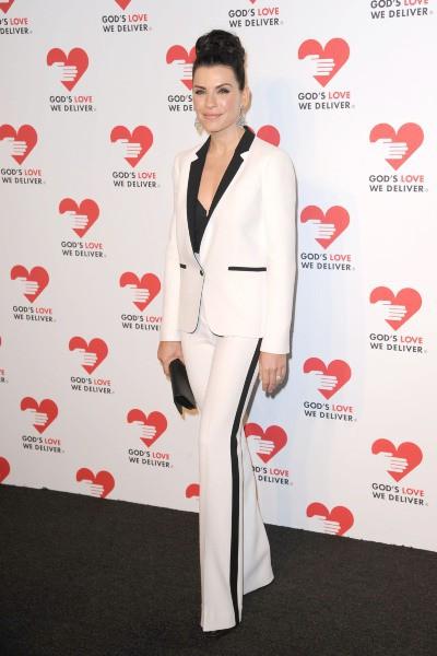 """Julianna Margulies lors de la soirée """"God's Love We Deliver Golden Heart Awards"""" à New York, le 16 octobre 2013."""
