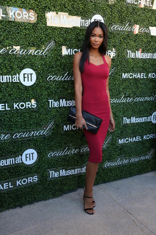 Chanel Iman à New York, le 4 septembre 2013.