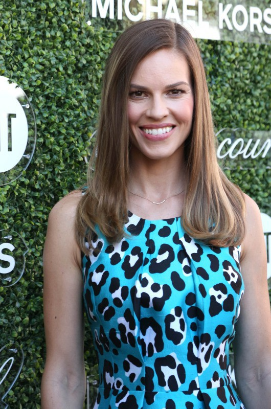 Hilary Swank à New York, le 4 septembre 2013.