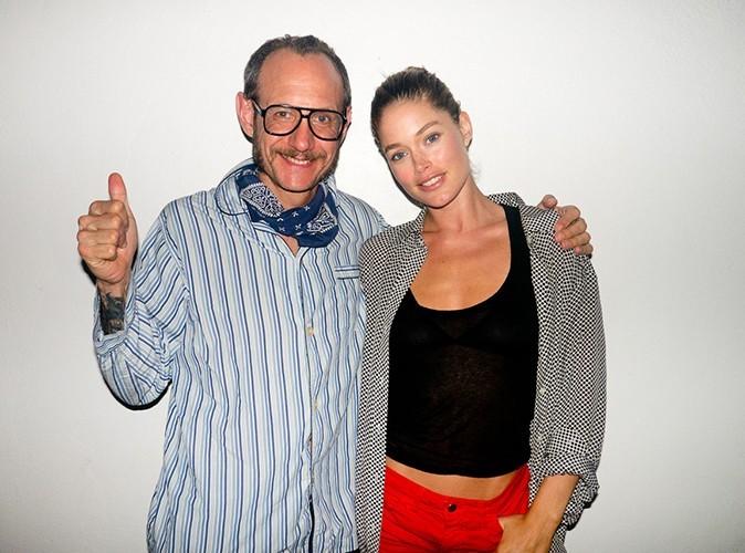 Doutzen Kroes et Terry Richardson le 20 janvier 2013