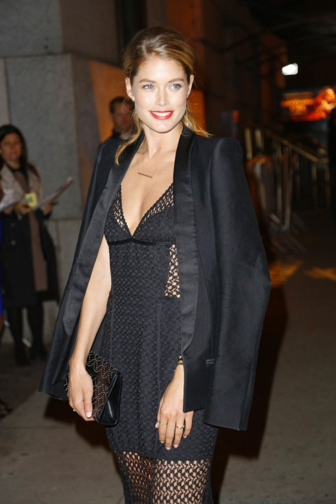 "Doutzen Kroes lors du gala ""FGI Night Of Stars"" à New York, le 23 octobre 2013."