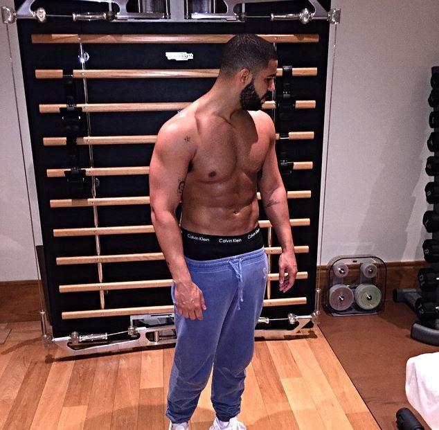 Drake sur Instagram