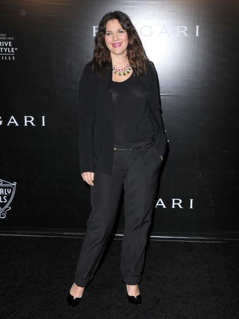 Drew Barrymore lors de la soirée Bvlgari à Beverly Hills, le 5 décembre 2012.