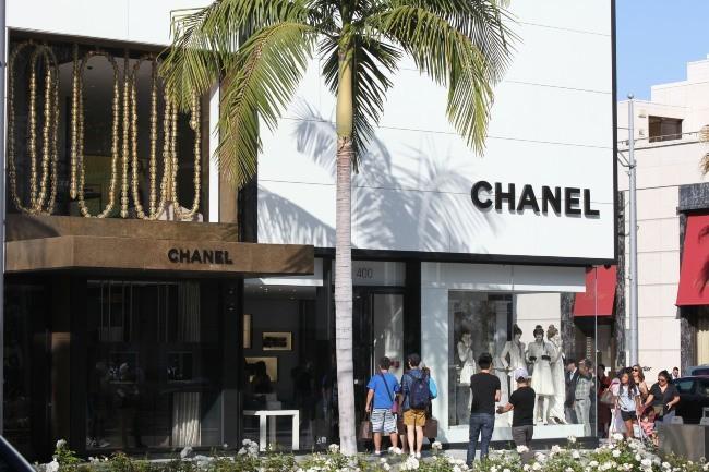 Boutique Chanel à Beverly Hills, le 30 mai 2012.