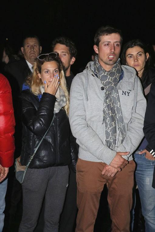 Hommage à Camille Muffat organisé à Nice le 10 mars 2015