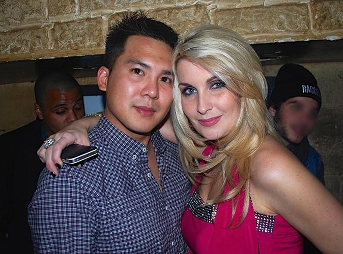 Sonja et un ami à Paris le 23 octobre 2013