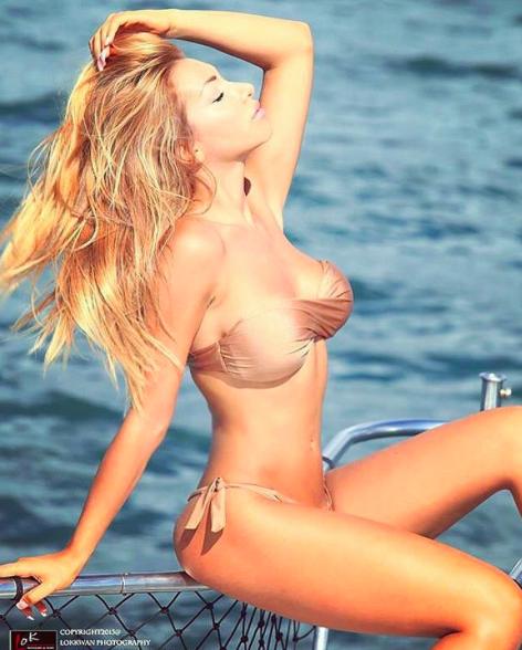 Photos : Elisa De Panicis : Découvrez la nouvelle girlfriend présumée de Cristiano Ronaldo !