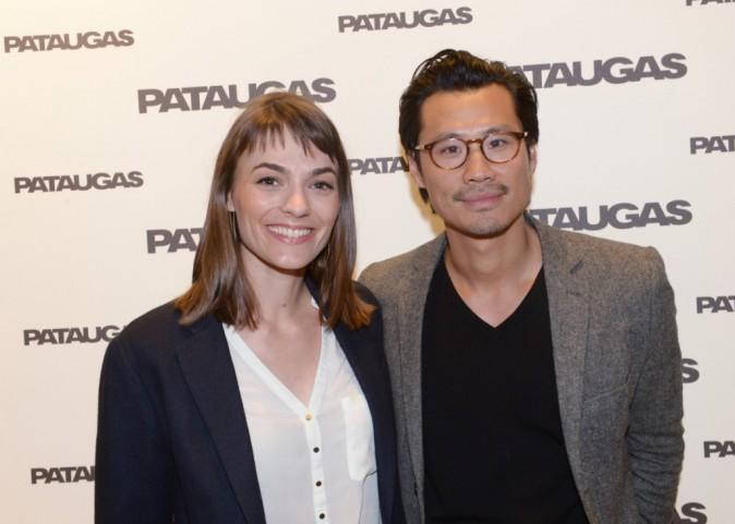 Frédéric Chau et sa compagne