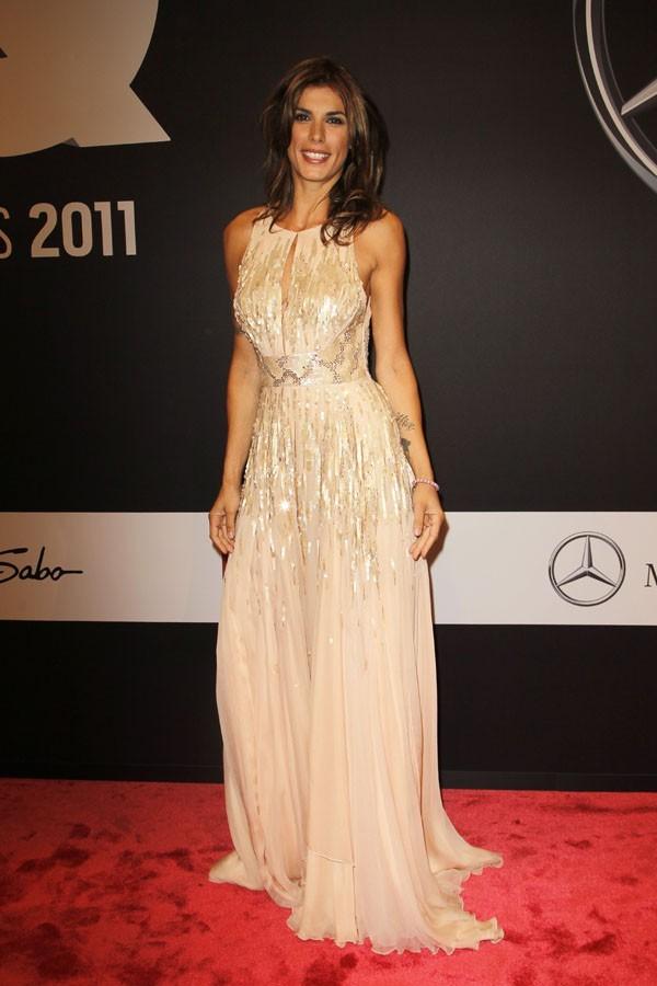 Elisabetta Canalis à Berlin pour la soirée des GQ MAn of The Year !