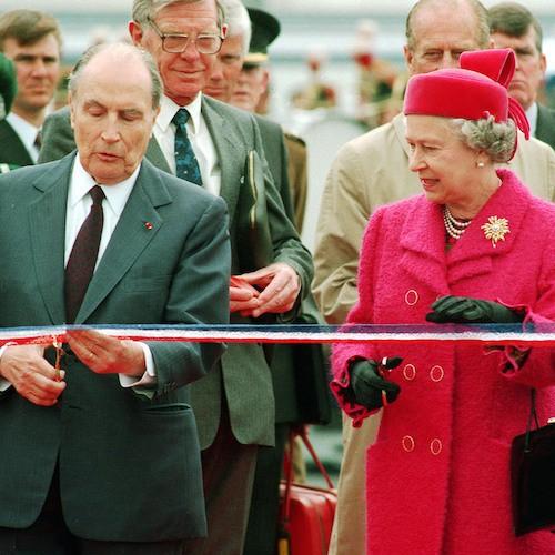 6 mai 1994 : François Mitterand et Elizabeth II inaugurent le tunnel sous la Manche