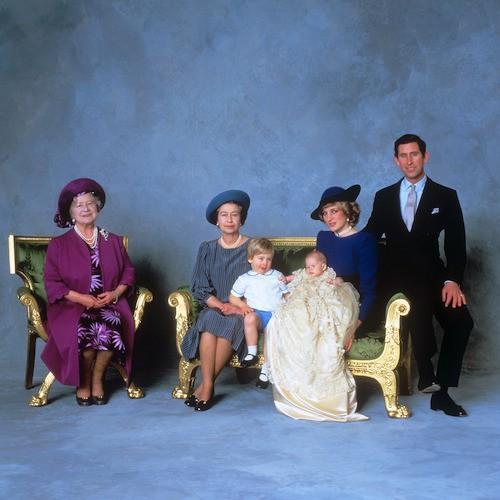 Le baptême du prince Harry, le 21 février 1984