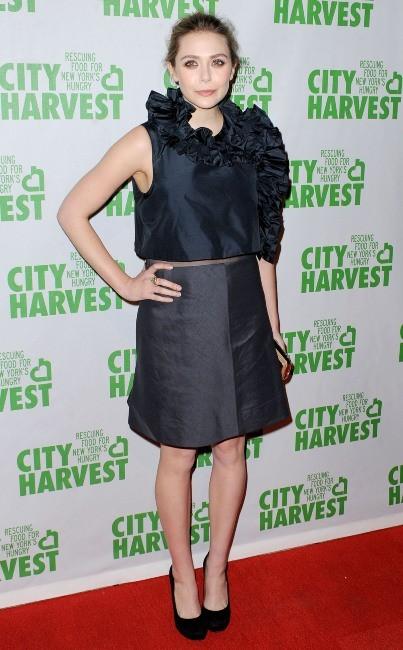"""Elizabeth Olsen lors de la soirée """"An Evening of Practical Magic"""" à New York, le 13 avril 2013."""