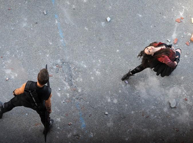 Elizabeth Olsen et Jeremy Renner en Italie le 24 mars 2014