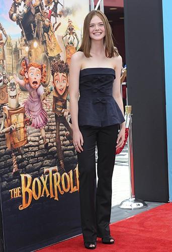 Elle Fanning à Los Angeles le 21 septembre 2014