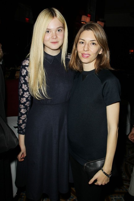 Elle Fanning et Sophia Coppola le 11 novembre 2012 à New York