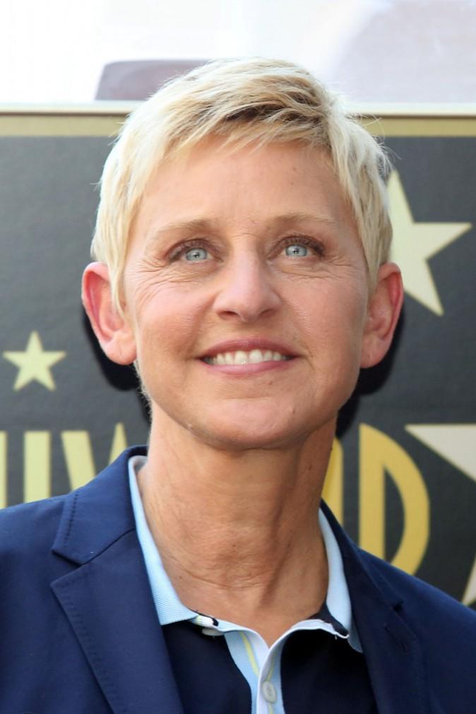 1ère place: Ellen DeGeneres