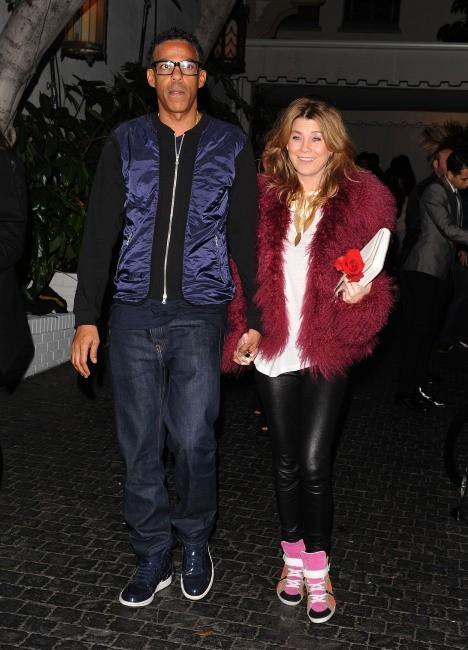 Ellen Pompeo et son mari le 10 février 2013 à Los Angeles