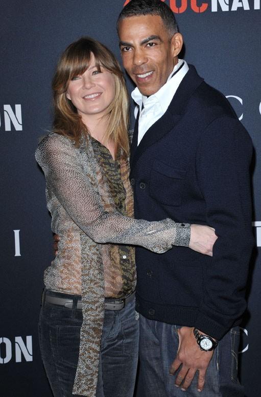 Ellen bien accrochée à Chris !