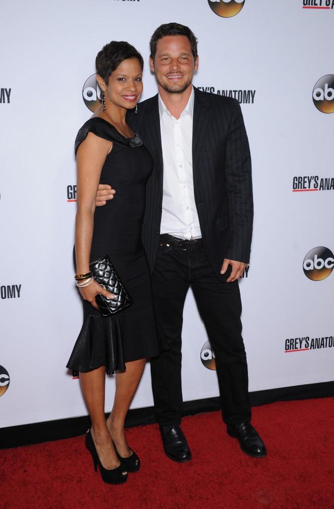 Justin Chambers fêtant le 200ème épisode de Grey's Anatomy à Hollywood le 28 septembre 2013