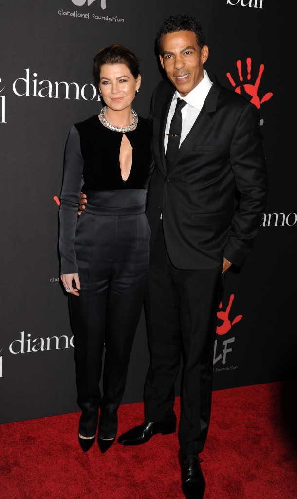 Ellen Pompoe et Chris Ivery le 11 décembre 2014