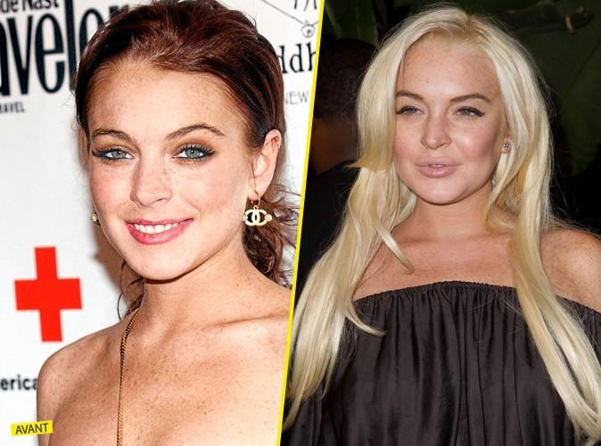 Lindsay Lohanachangé en 5 ans ! En mal !