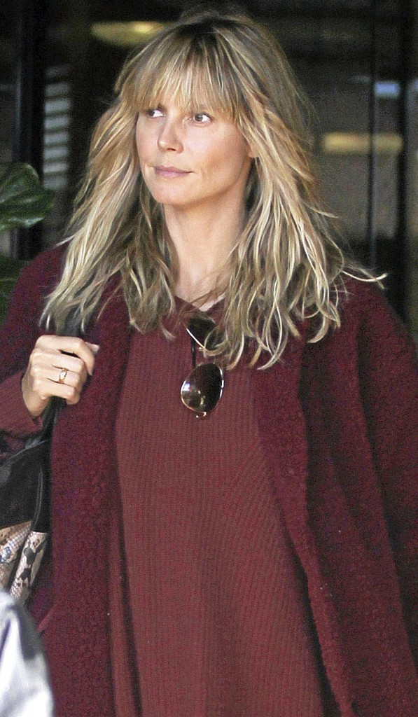Heidi Klum :   Au top sans make-up !