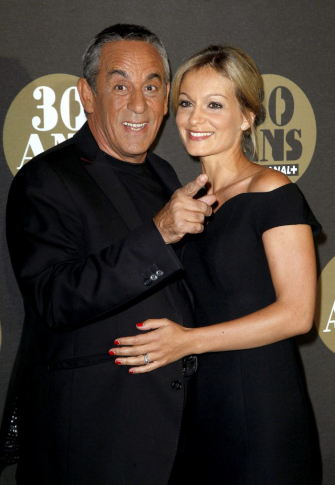 Thierry Ardisson et sa compagne