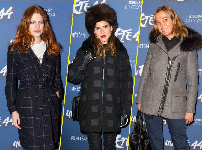 Elodie Frégé, Joyce Jonathan, Sandrine Quétier : l'hiver se pointe au photocall d'Un été 44 !