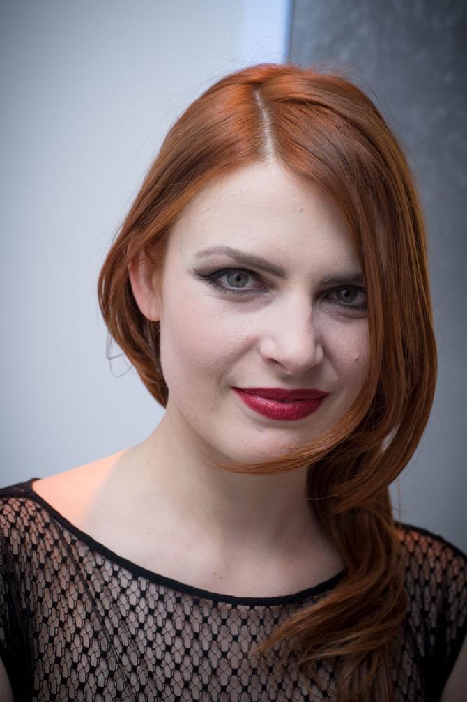 Elodie Frégé à Paris le 20 janvier 2015