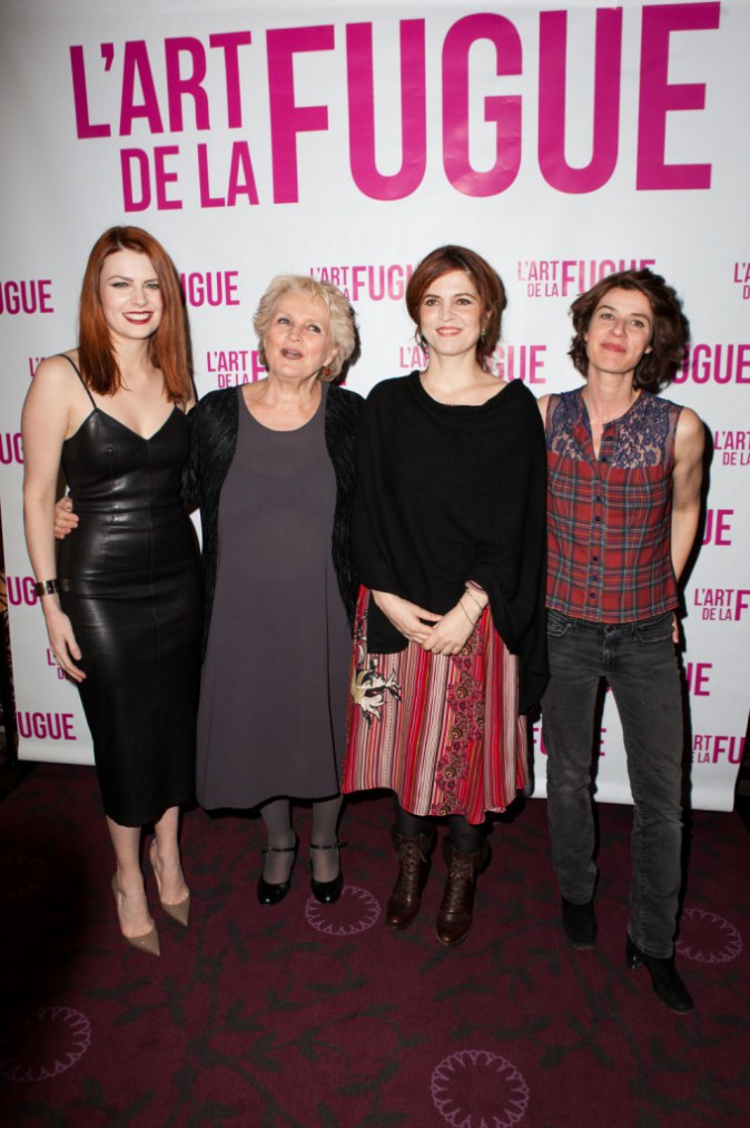 Elodie Frégé le 3 mars 2015