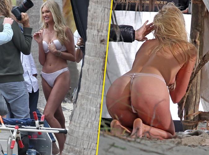 Elsa Hosk : l'Ange Victoria's Secret en shooting, c'est aussi chaud devant que derrière !