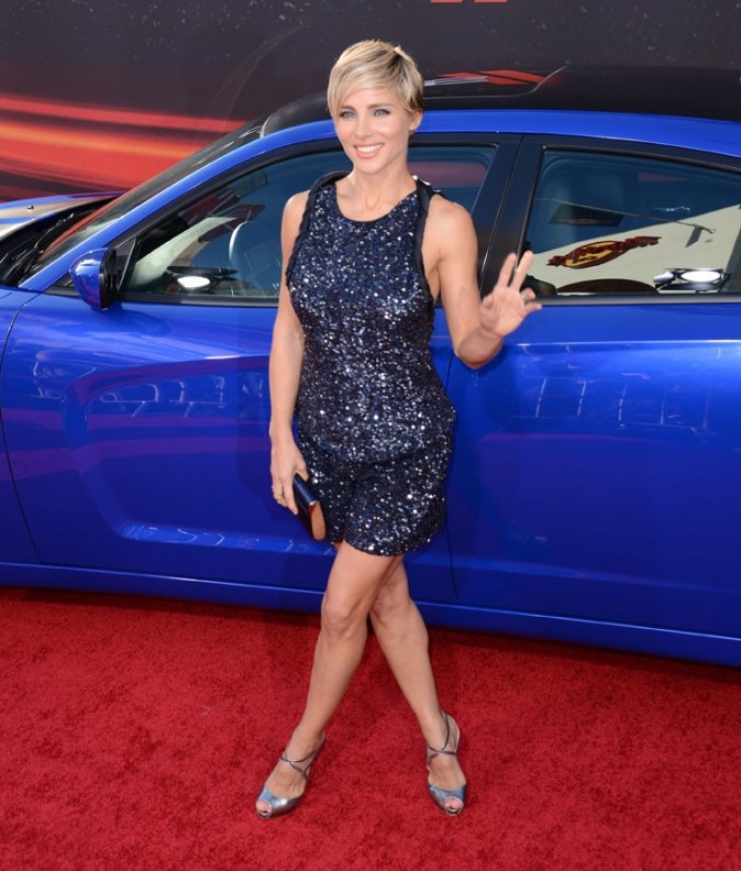 Elsa Pataky à l'avant-première de Fast and Furious 6 à Universal City le 21 mai 2013