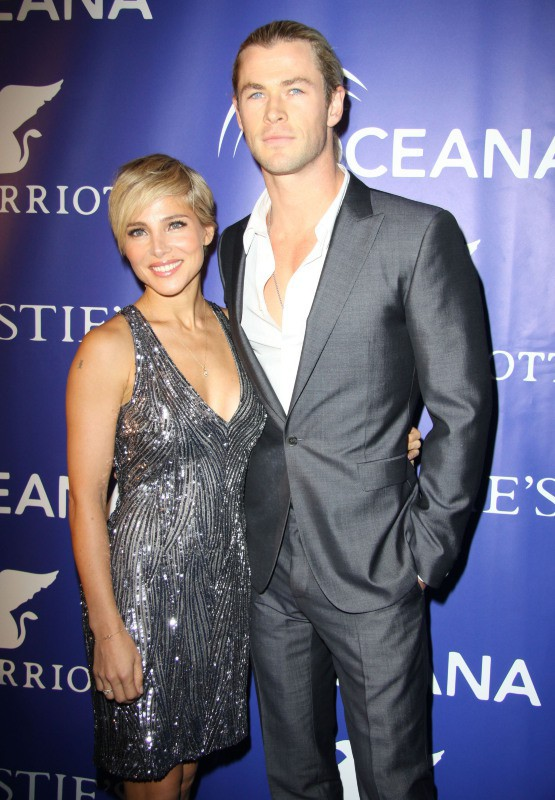 Elsa Pataky et Chris Hemsworth.