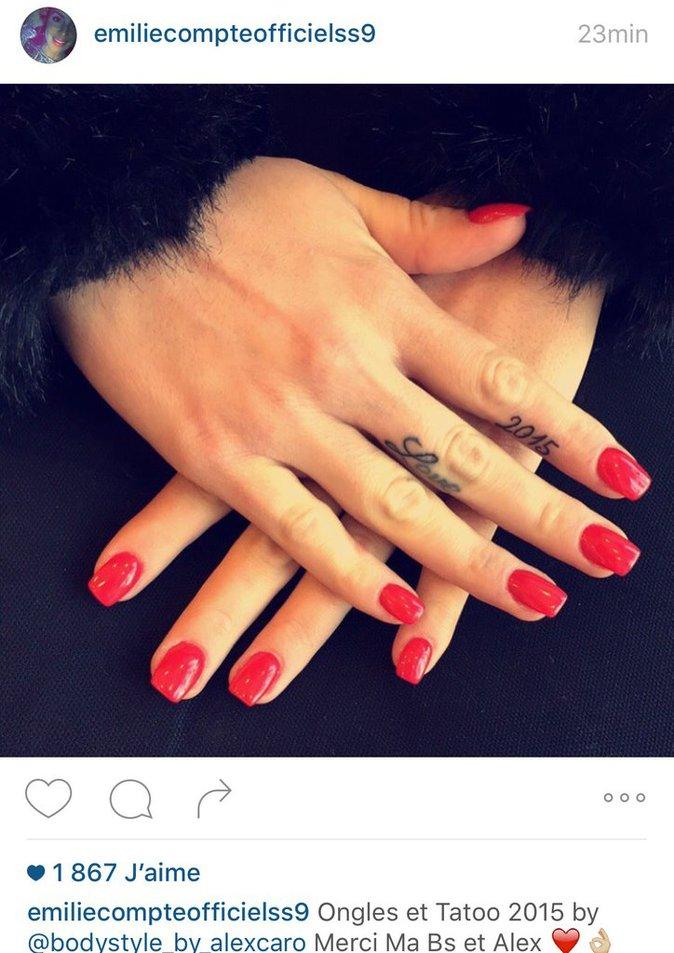 le tatouage d' Emilie
