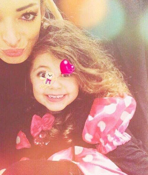 Emilie Nef Naf et sa fille